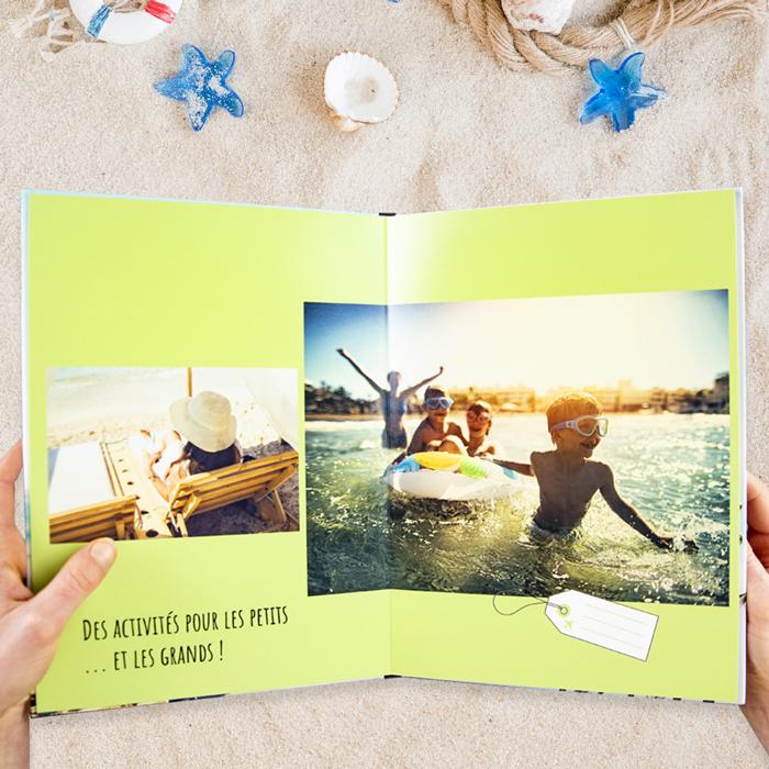 Album photo de vacances