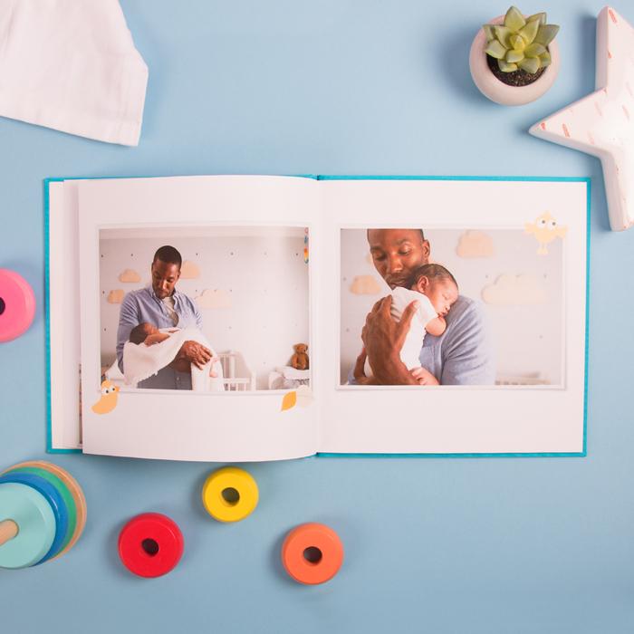 Le livre photo storybook de bébé